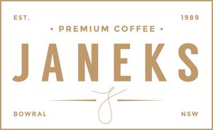 Janeks Cafe Retina Logo